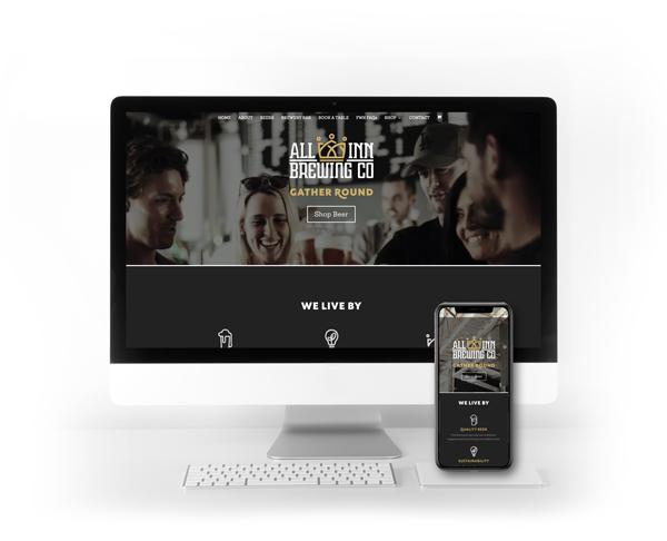All Inn Brewing Website